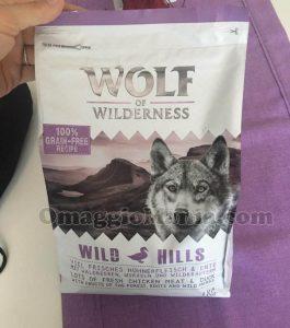 crocchette Wolf of Wilderness di Martina
