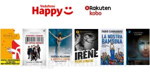 ebook Rakuten Kobo omaggio Vodafone Happy