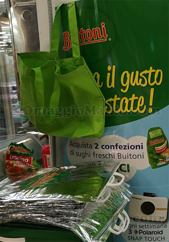 espositore shopper borsa frigo Buitoni
