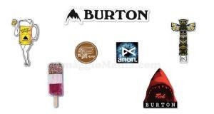 kit adesivi Burton omaggio
