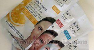 kit maschere monodose Garnier SkinActive di Rebecca