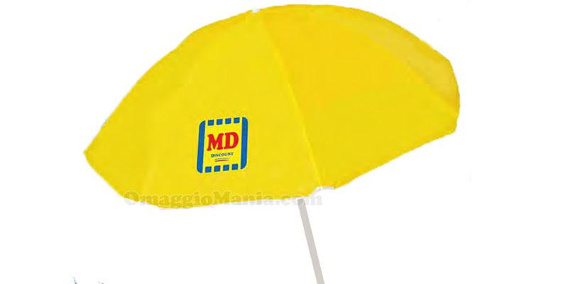 ombrellone mare a 1 euro da MD e LD