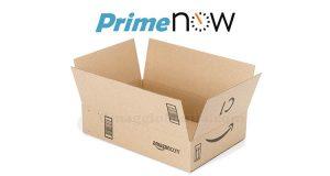pacco Amazon Prime Now