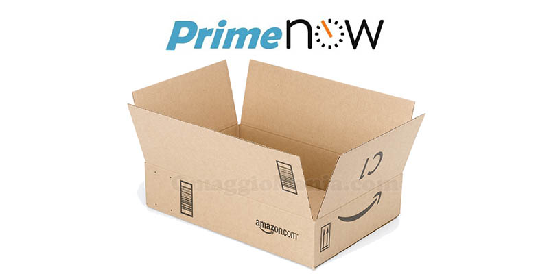 pacco Amazon Prime Now