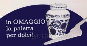 paletta per dolci Amarena Fabbri omaggio