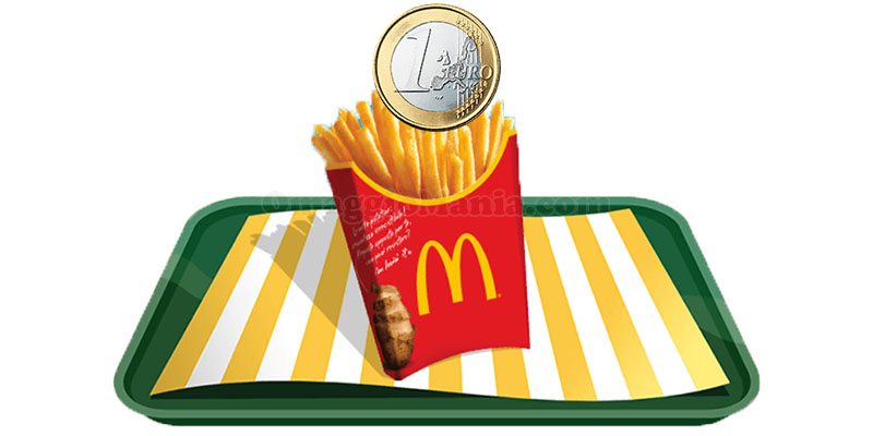 patatine grandi 1 euro McDonald's Summerdays