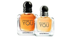 profumi Emporio Armani Stronger with you e Because it's you