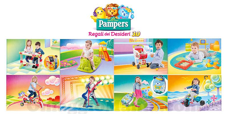 raccolta punti Pampers Regali dei Desideri 3.0