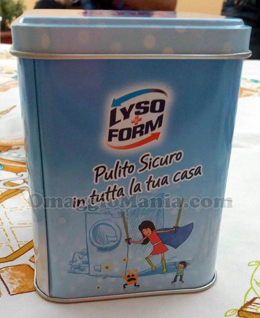 scatola in latta Lysoform di Anna