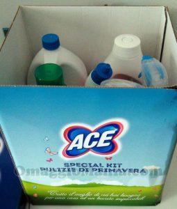 scatola kit ACE Pulizie di Primavera di Stefy