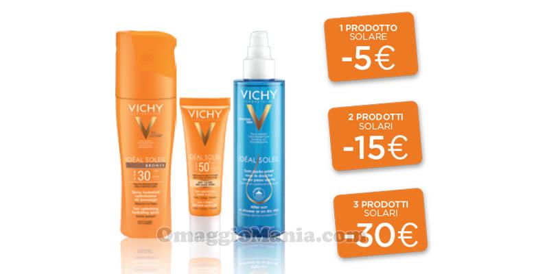 sconto solari Vichy 2017