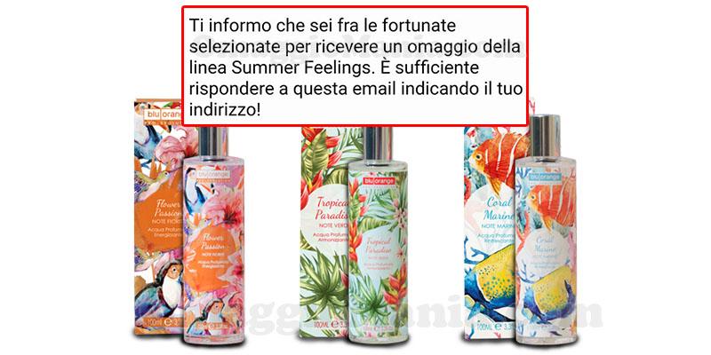 selezione Summer Feelings BluOrange