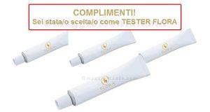 selezione tester dentifrici Flora