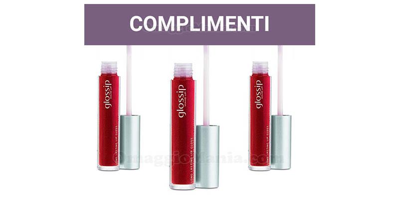 selezione tester lip gloss Long Lasting Glossip