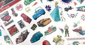 set tattoos Frozen Cars