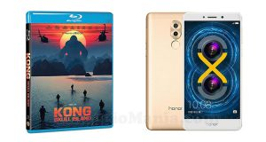 vinci bluray Kong Skull Island o Honor 6X