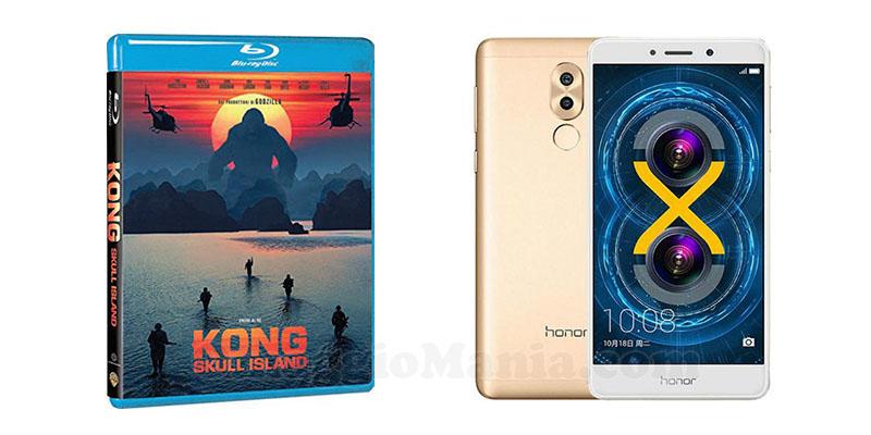 vinci bluray Kong Skull Island o Honor 6X