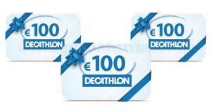 vinci buoni Decathlon da 100 euro