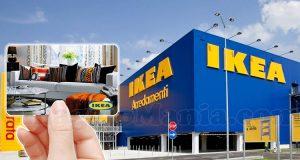 vinci carte regalo IKEA con Paglieri