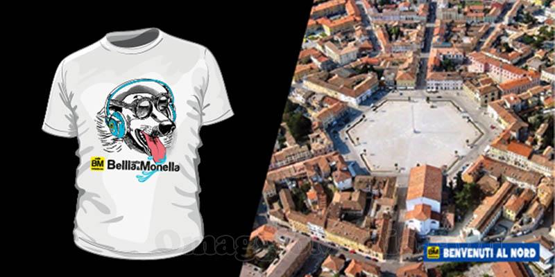 vinci t-shirt Radio Bellla&Monella luglio 2017 2