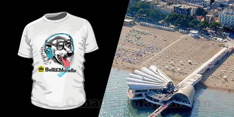 vinci t-shirt Radio Bellla&Monella luglio 2017