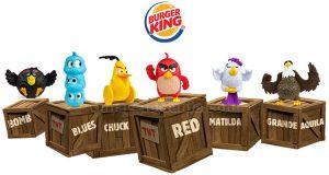Angry Birds Burger King