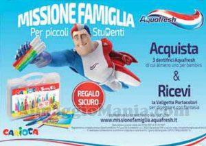 Aquafresh Missione Famiglia per Piccoli Studenti