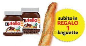 Baguette con Nutella