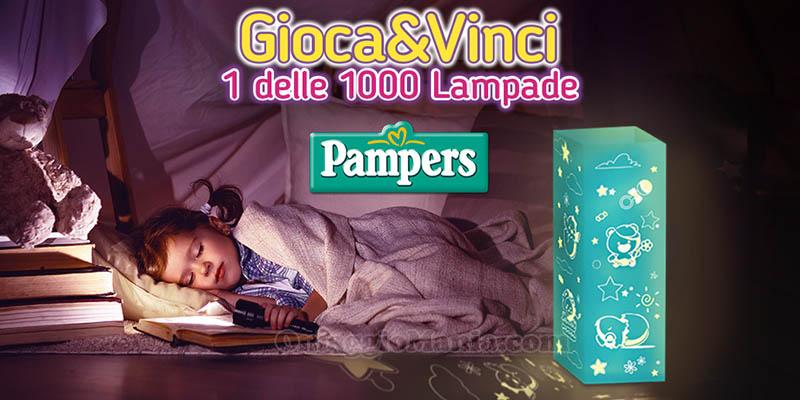 Gioca&Vinci 1 delle 1000 Lampade Pampers