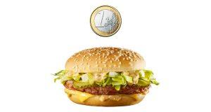 Mac Junior a 1 euro da McDonald's