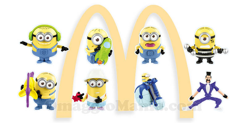 McDonald's Happy Meal Cattivissimo Me 3