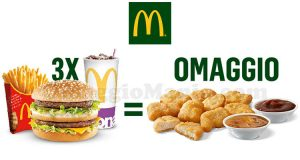 McDonald's in omaggio 9 Chicken McNuggets