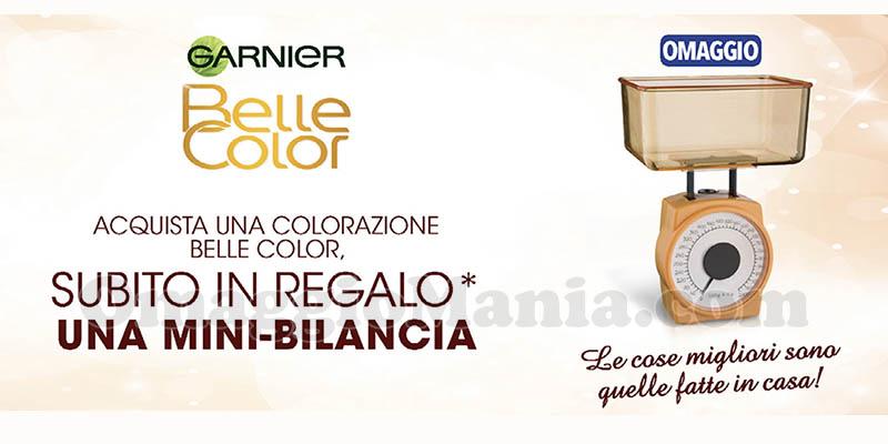Mini Bilancia da cucina omaggio con Garnier Belle Color