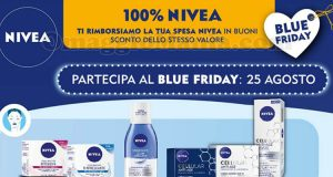 Nivea Blue Friday agosto 2017