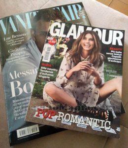 Vanity Fair n.33 e Glamour n.302 di Fede