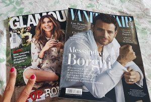Vanity Fair n.33 e Glamour n.302 di Rosa