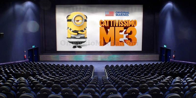 Vinci biglietti cinema Cattivissimo Me 3 con Original Marines