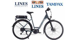 Vinci una bici elettrica con Lines