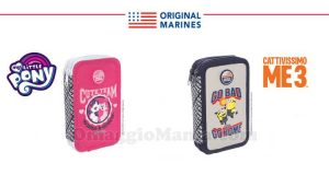 astucci Original Marines My Little Pony Cattivissimo Me 3