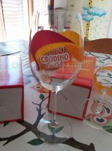 bicchiere Crodino Twist omaggio di Petrica