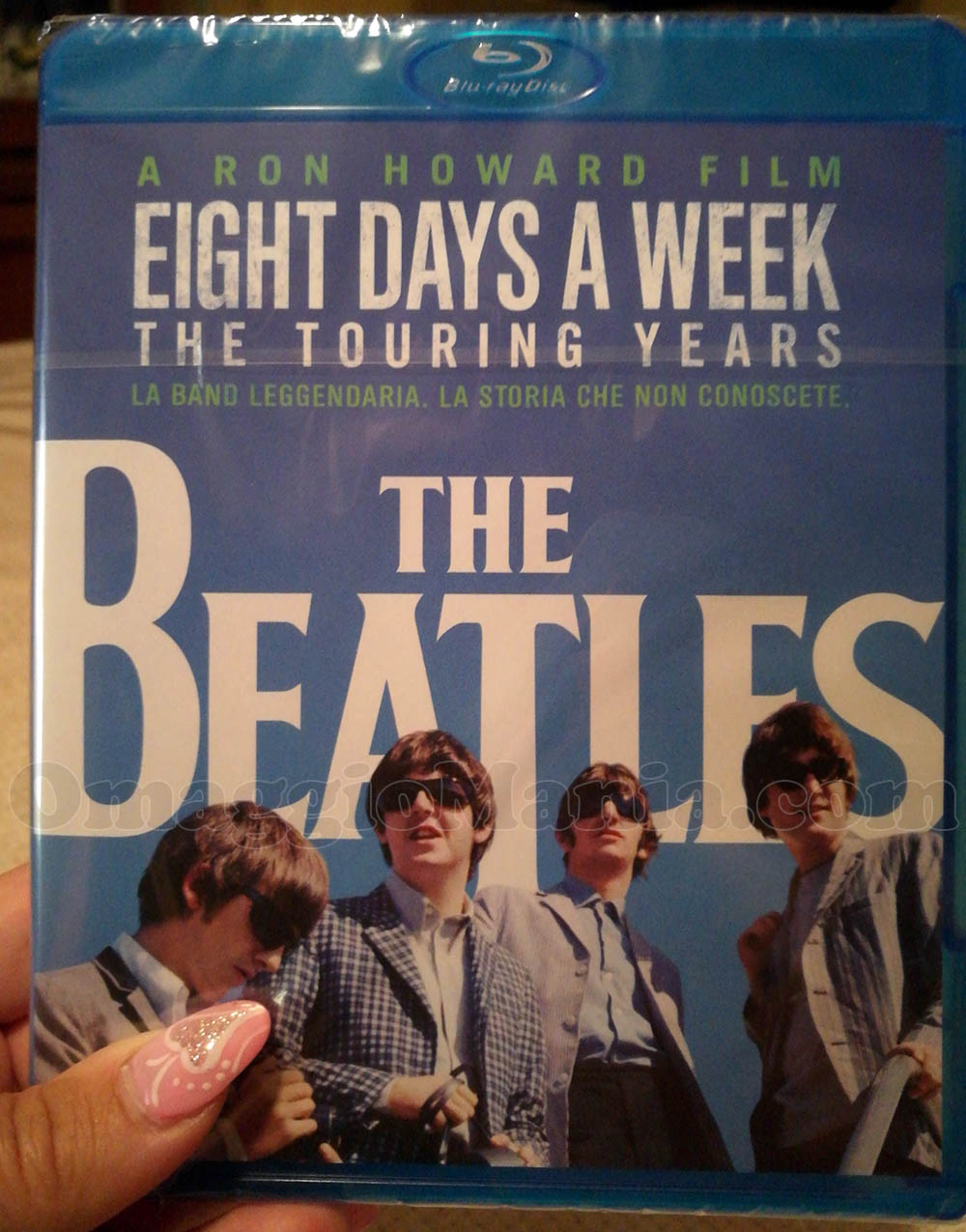 blu ray dei Beatles