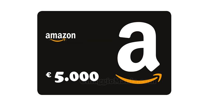 buono Amazon 5.000 euro