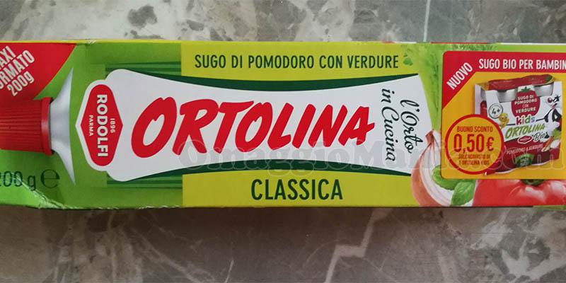 buono sconto Ortolina Kids con Ortolina Classica