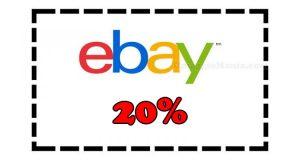 buono sconto eBay 20%