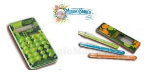 calcolatrice e penne Mulino Bianco