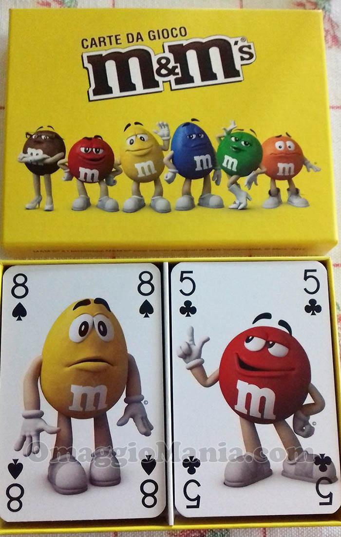 carte da gioco M&Ms di Marina