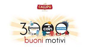 concorso Callipo 3000 buoni motivi