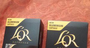 confezioni omaggio capsule L'Or Espresso di Janette