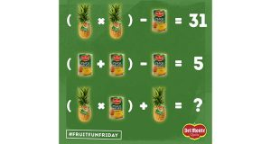 contest FruitFunFriday Del Monte 11 agosto 2017