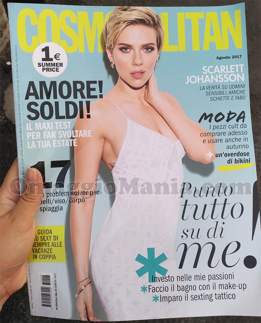 copia omaggio Cosmopolitan 8 2017 di Giulia